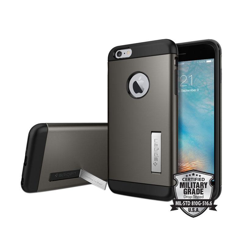 Spigen Slim Armor Casing for iPhone 6s Plus - Gunmetal