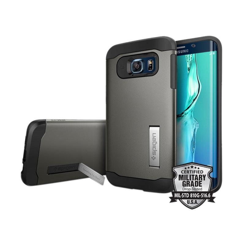Spigen Slim Armor Casing for Samsung Galaxy S6 Edge Plus - Gunmetal