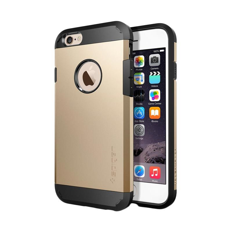 Spigen Slim Armor S Champagne Gold Casing For iPhone 6