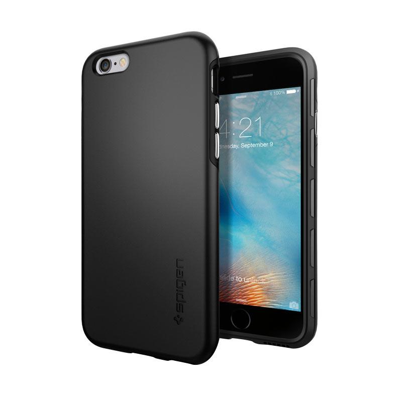 Spigen Thin Fit Hybrid Casing for iPhone 6 or 6S - Black