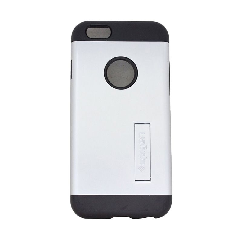 Spigen Tough Armor Silver Casing for iPhone 4 or 4S