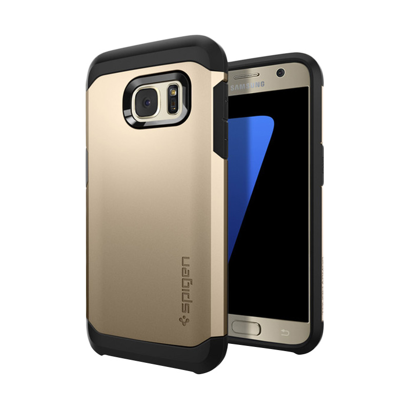 Spigen Tough Armor Casing for Samsung Galaxy S7 - Champagne Gold