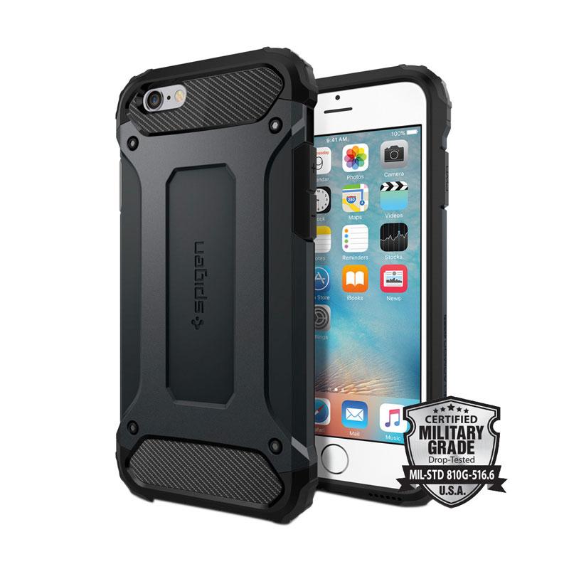 Spigen Tough Armor Tech Casing for iPhone 6 Plus or 6S Plus - Metal Slate