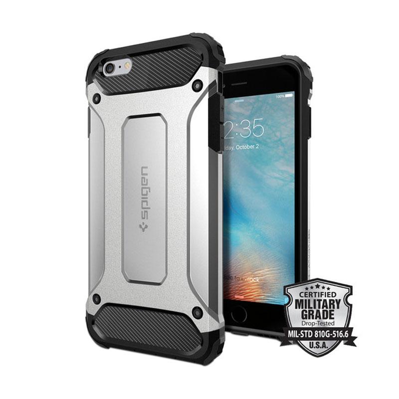 Spigen Tough Armor Tech Casing for iPhone 6 Plus or 6s Plus - Satin Silver