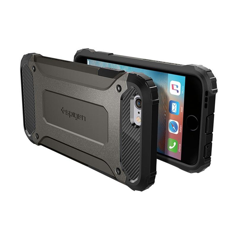 Spigen Tough Armor Tech Gunmetal Casing for iPhone 6S Plus or iPhone 6 Plus [5.5 Inch]