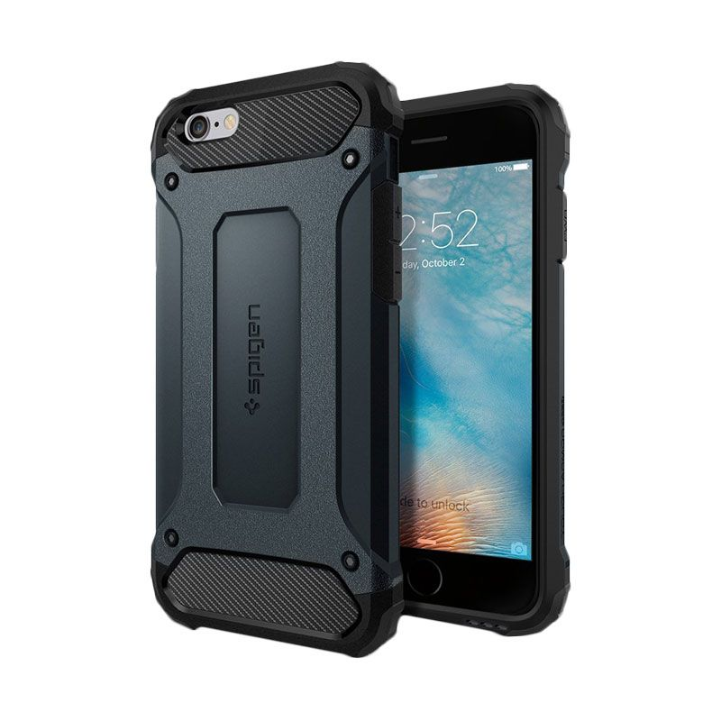 Spigen Tough Armor Tech Metal Slate Casing for iPhone 6S/ 6 [4.7 Inch]