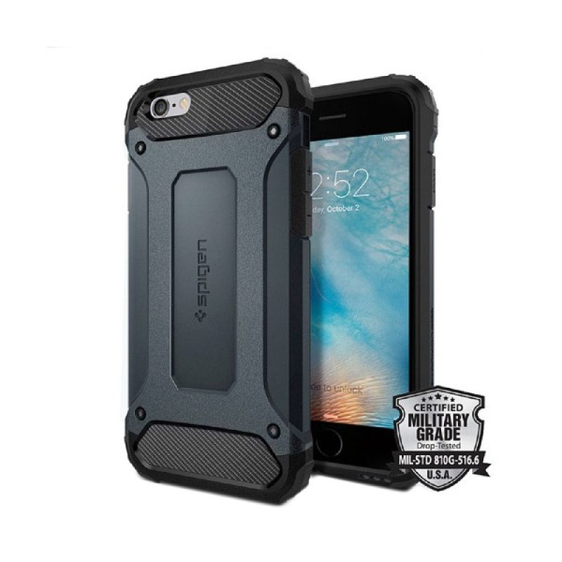 Spigen Tough Armor Tech Metal slate Casing for iPhone 6S Plus/iPhone 6
