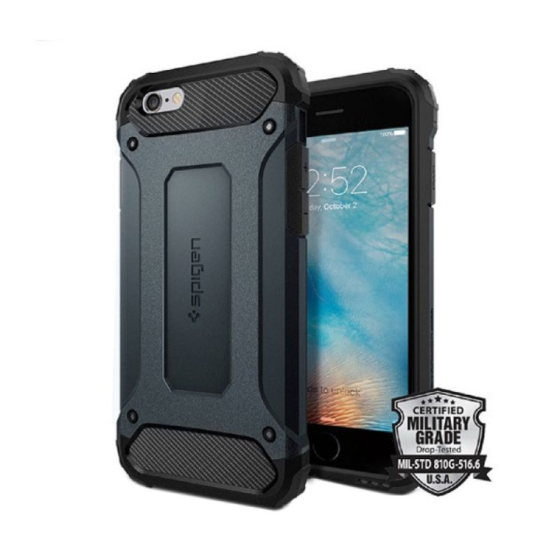 Spigen Tough Armor Tech Metal Slate for iPhone 6S/iPhone 6 [4.8 Inch]