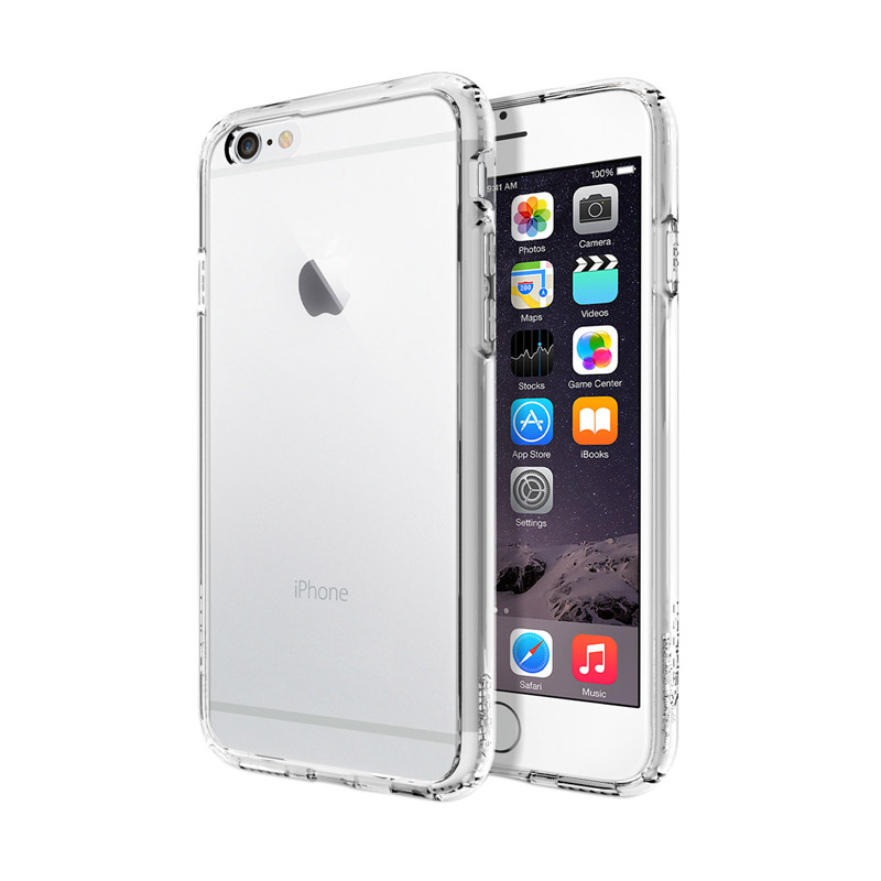 Spigen Ultra Hybrid Crystal Clear Casing for iPhone 6 Plus or 6S Plus