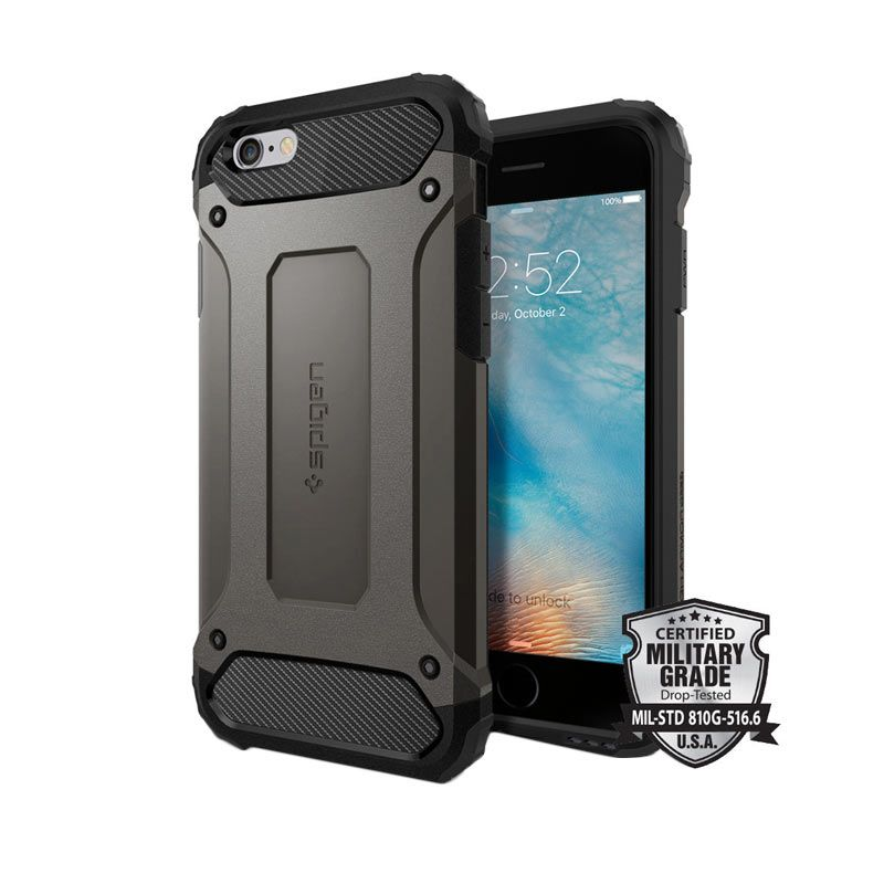 Spigen Tough Armor Tech Gunmetal for iPhone 6 Plus or 6S Plus
