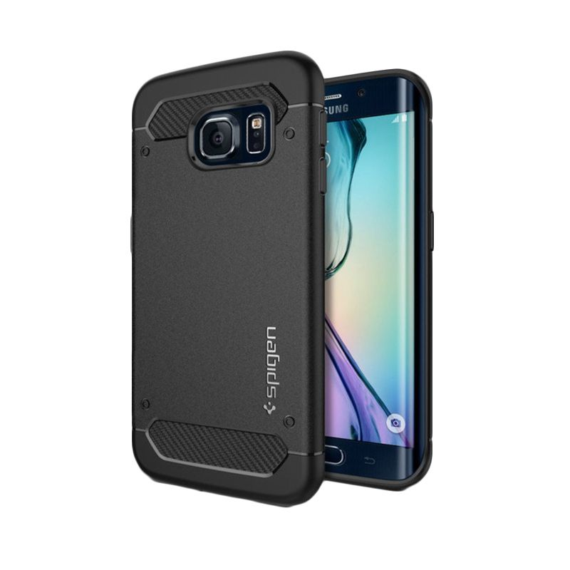Spigen Ultra Rugged Black Casing for Galaxy S6
