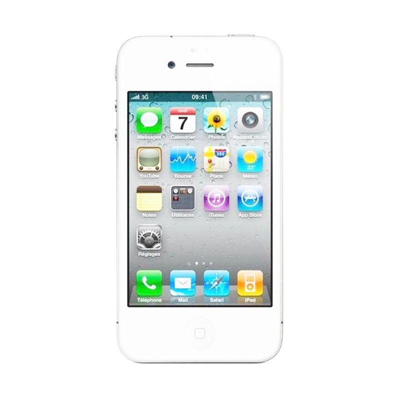 Apple iPhone 4 16 GB White Smartphone [Refurbished]
