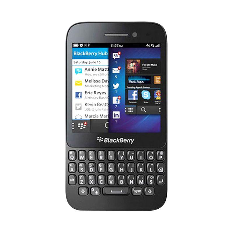 BlackBerry Q5 Hitam Smartphone [Garansi Distributor]