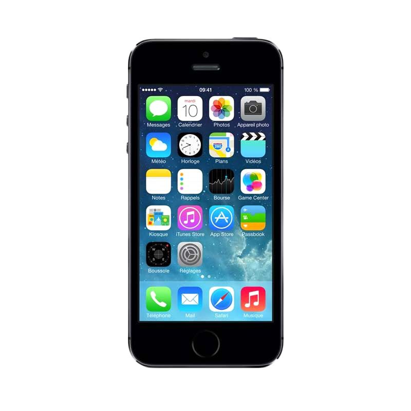 iPhone 5S 16 GB Grey Smartphone [Refurbished Garansi Distributor]
