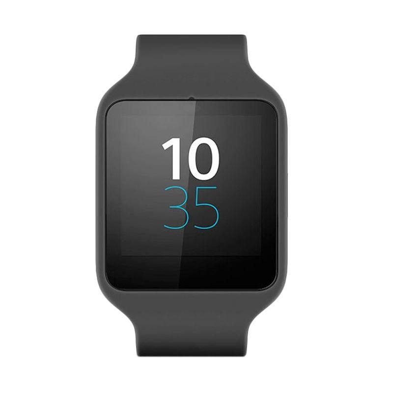 Sony 3rd Generation SWR50 Rubber Black Smartwatch