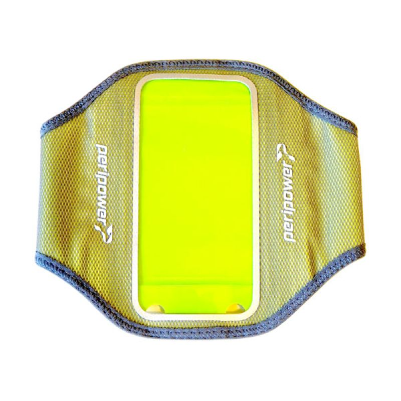 Peripower Armband Lycra Farbic Yellow Casing for iPhone 5S