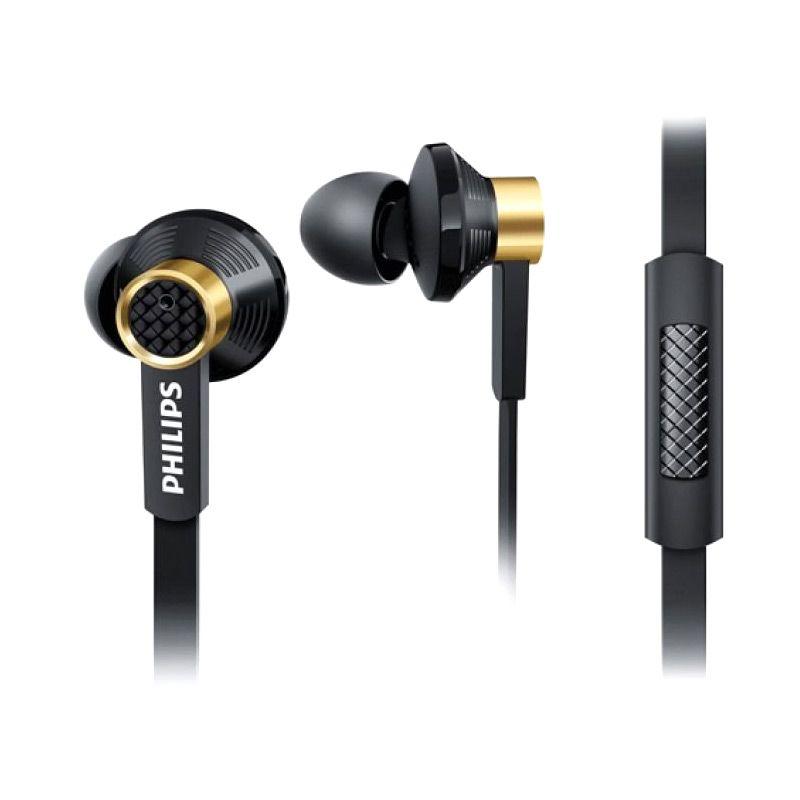 Philips Fidelio TX2 Hitam Earphone