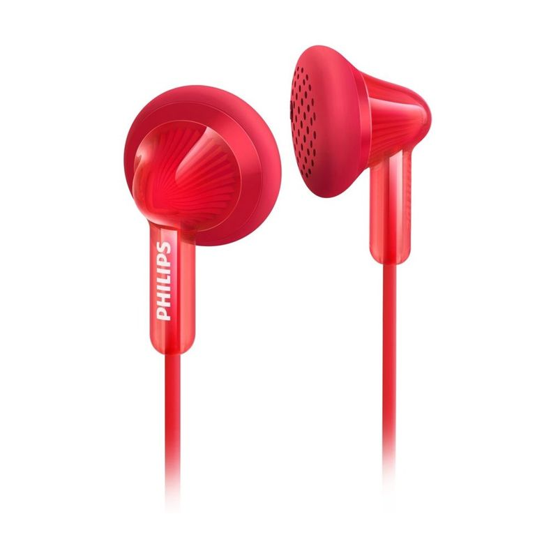 Philips SHE 3010 RD Merah Earphone