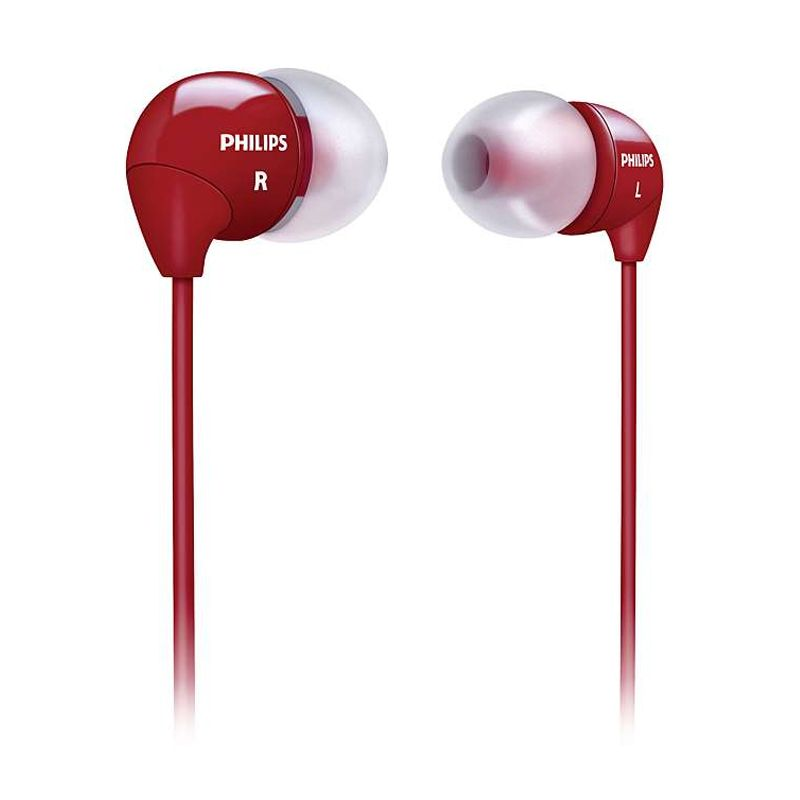 Philips SHE 3590 RD Merah Headset