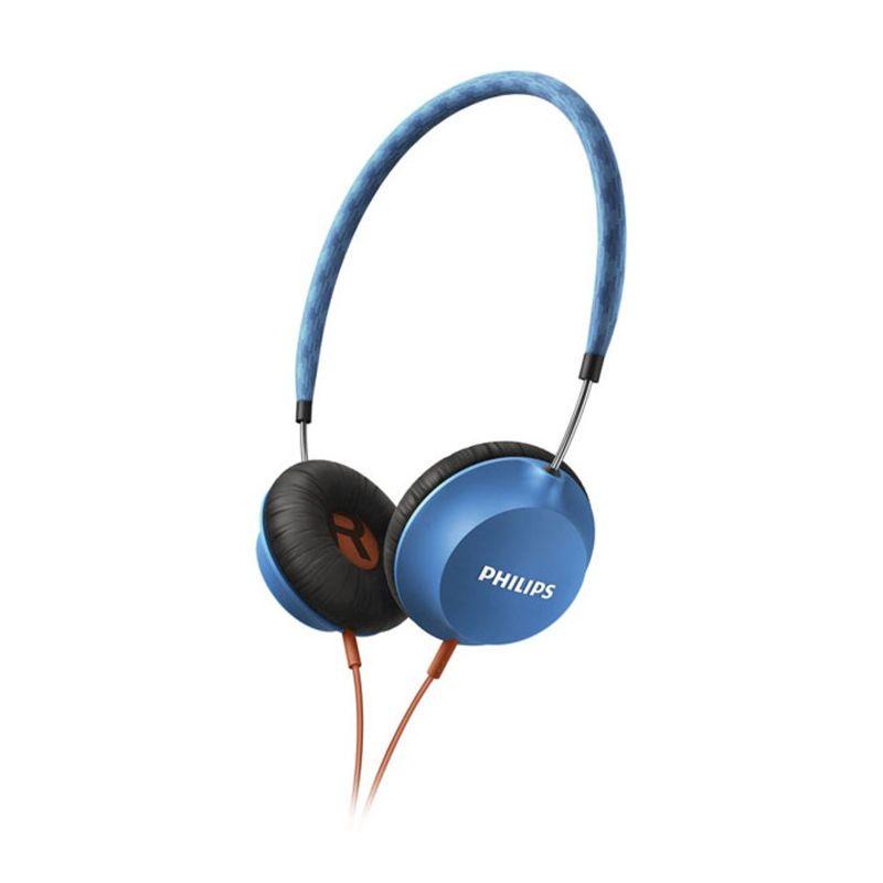 Philips SHL5100BL Citiscape Light Weight Blue Headphone