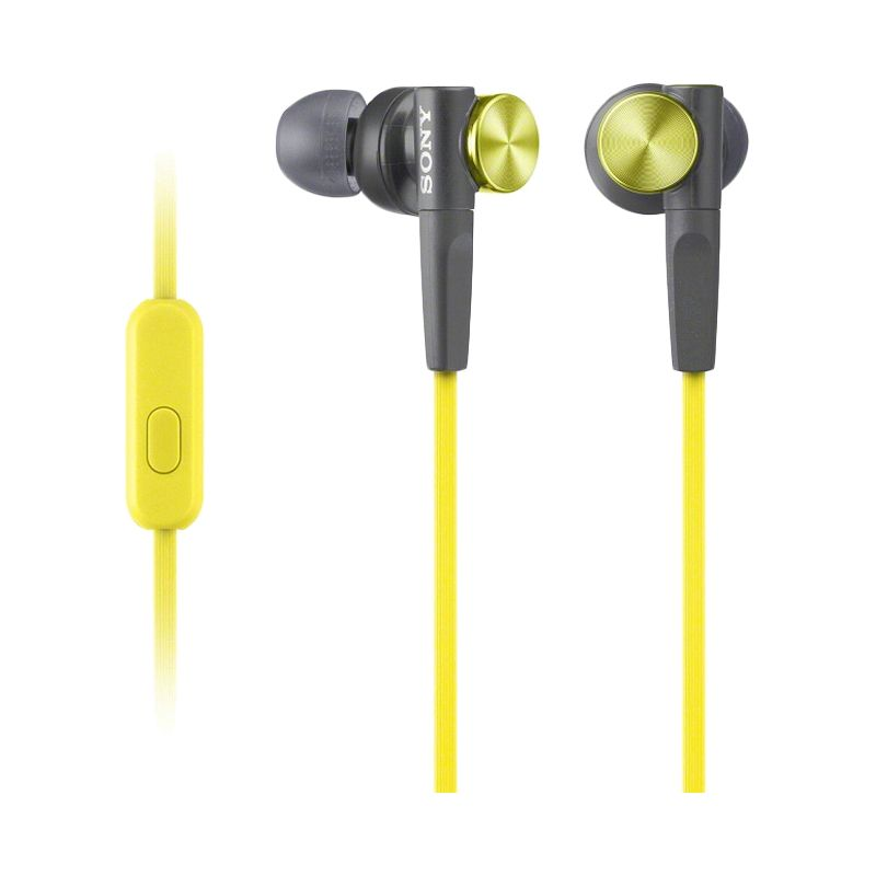Sony Extra Bass MDR-XB50AP Kuning Earphone