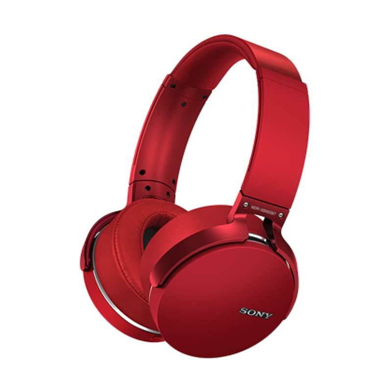Sony Extra Bass MDR-XB950BT Merah Bluetooth Headset