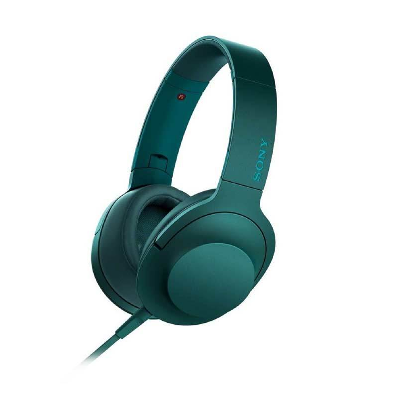 Sony Hear On High Resolution Audio MDR-100AAP Vindian Blue Headphone