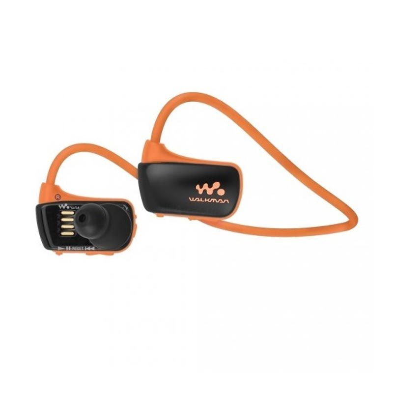 Sony NWZ-W273 Orange Sports MP3 Player [4 GB]