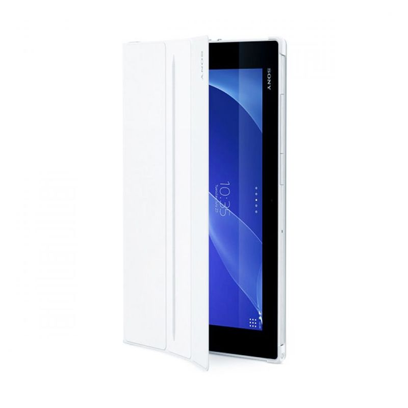 Sony Style Cover Stand SCR12 Putih Casing for Xperia Z2 Tablet