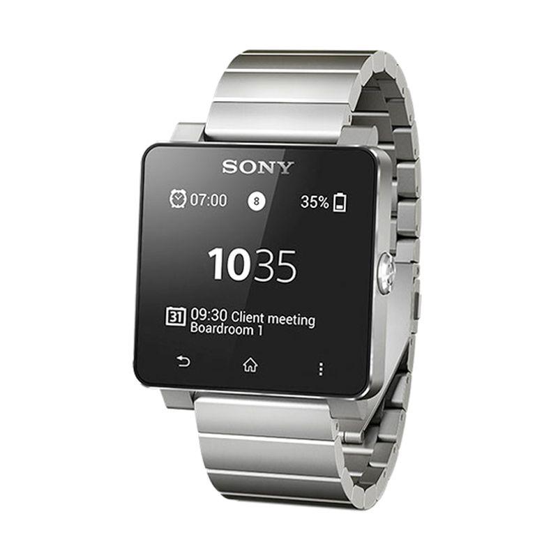 Sony SW2 Steel Silver Smartwatch