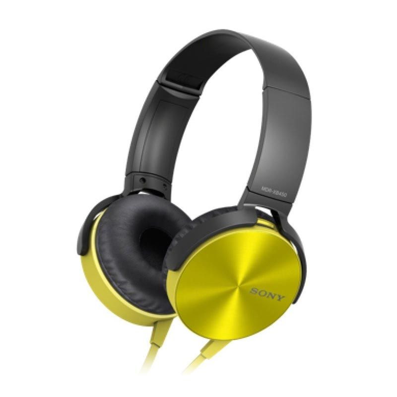 Sony XB450AP Kuning Extra Bass Headphone