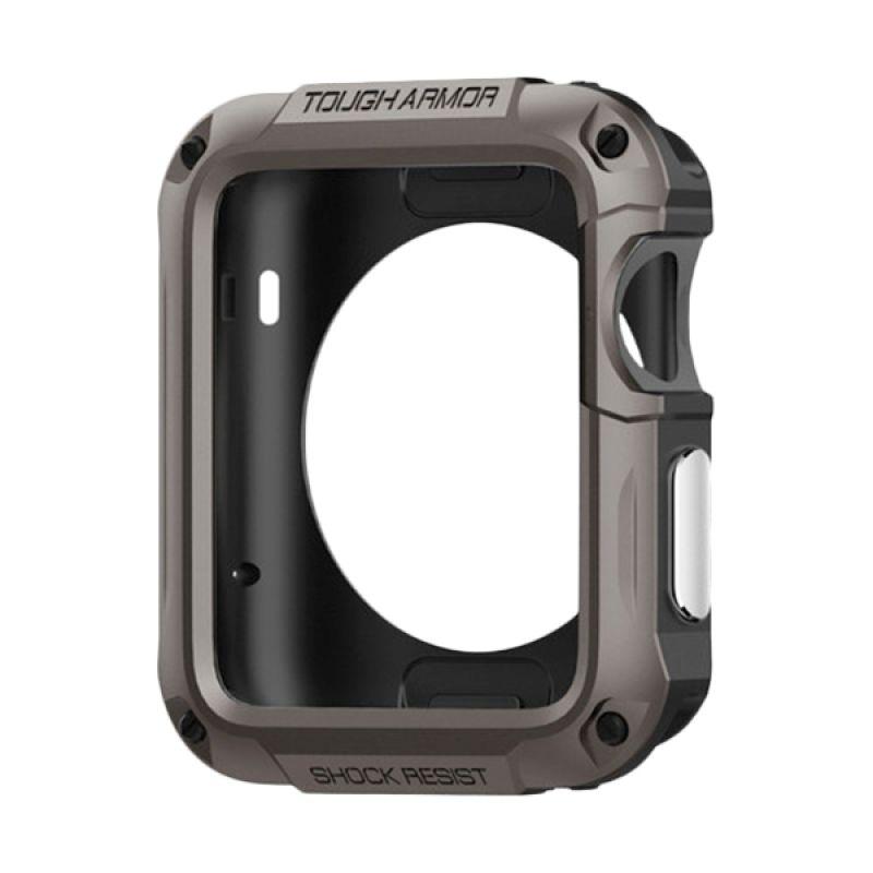 Spigen Tough Armor Gun Metal Casing for Apple Smartwatch [42 mm]