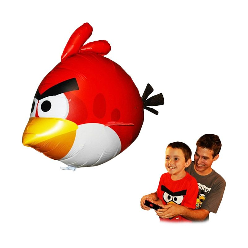 St4rshop Air Swimmer Flying Fish Angry Birds Mainan Remote Control