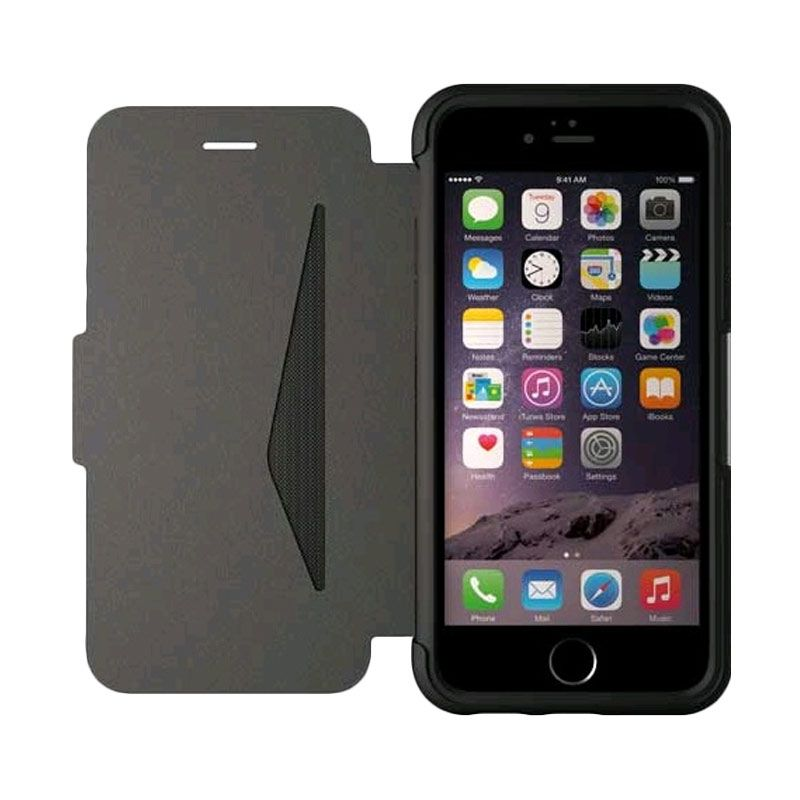 OtterBox Strada Series Black Casing for iPhone 6