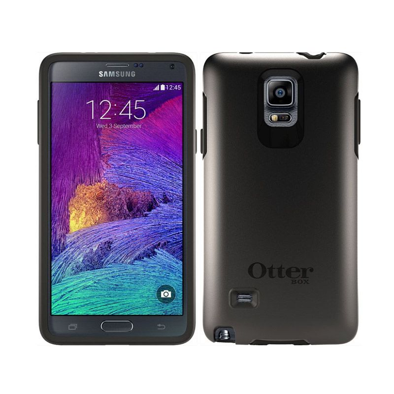 Otterbox Symmetry Black Casing for Samsung Galaxy Note 4