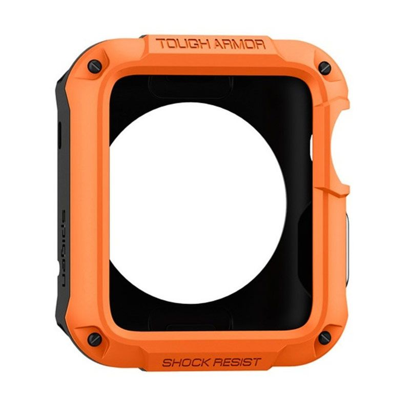 Spigen Tangerine Tango Casing for Apple Watch Tough Armor [42 mm]