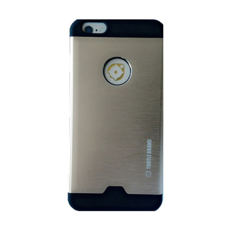 Turtle Brand Tur Case Series Metal Gold Casing for Apple iPhone 6 Plus