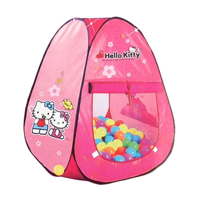 Tenda Bola Hello Kitty Mainan Anak