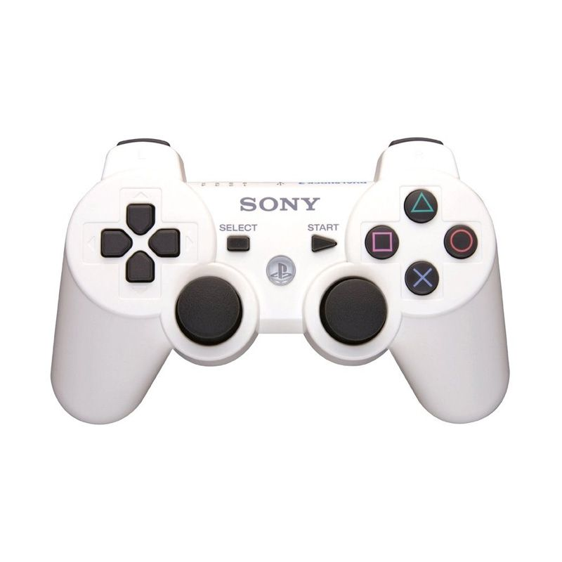 Sony Playstation 3 White Wireless Stick Controller