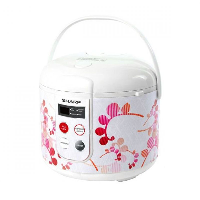 Sharp KS-T18TL-RD Merah Rice Cooker