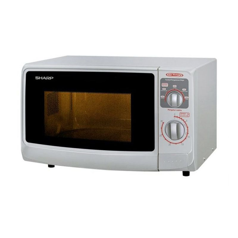 Sharp Low Watt Microwaves - R-222Y (W) - Putih Extra diskon 7