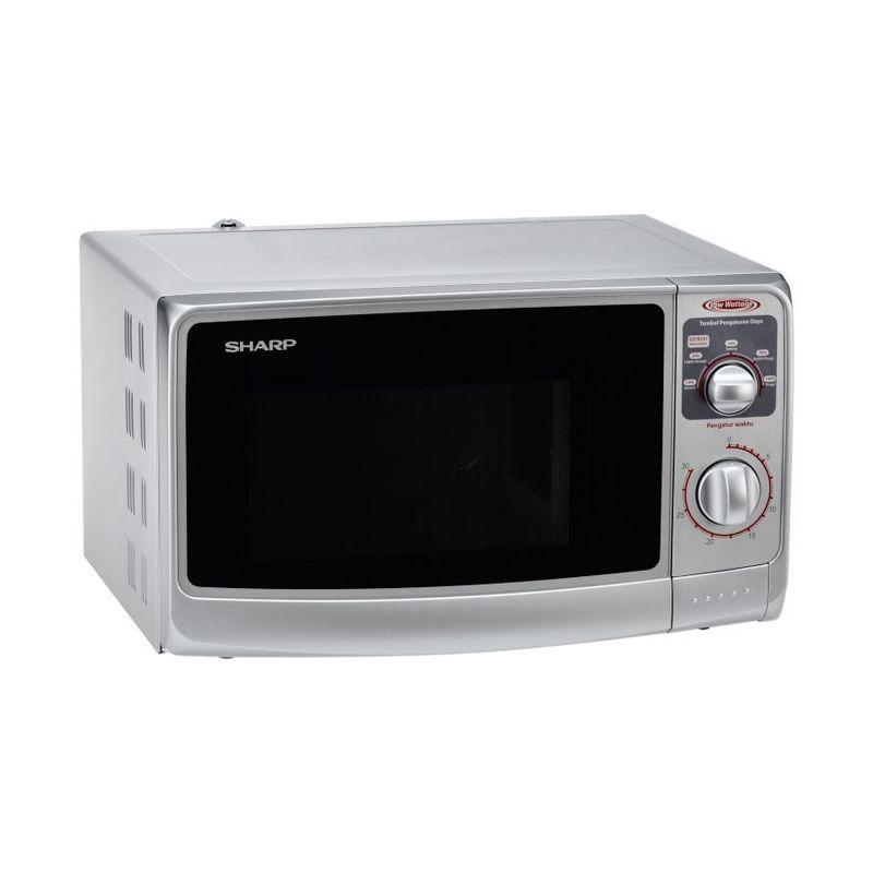Sharp R-222Y Silver Microwave Extra diskon 7% setiap hari Extra diskon 5% setiap hari Citibank – lebih hemat 10%