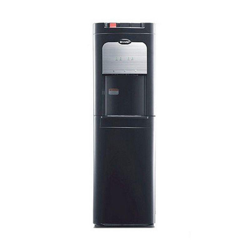 Sharp SWD-72EHL-BK Black Dispenser [Bottom Loading]