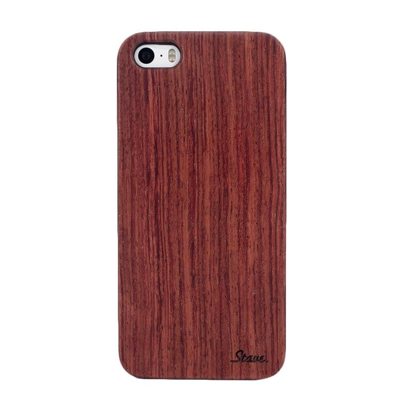 Stave Goods Rosewood Polycarbonate Casing for iPhone 5 or 5s
