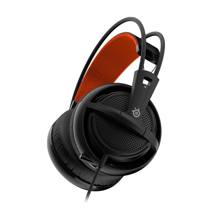 SteelSeries Siberia 200 Black Gaming Headset