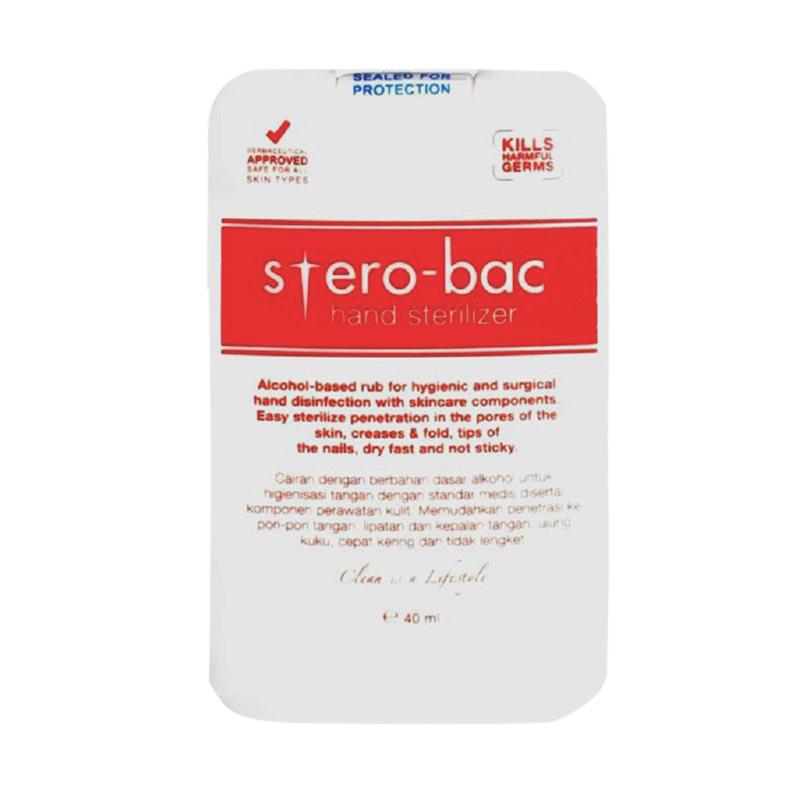 Sterobac Hand Sterillizer 40 mL