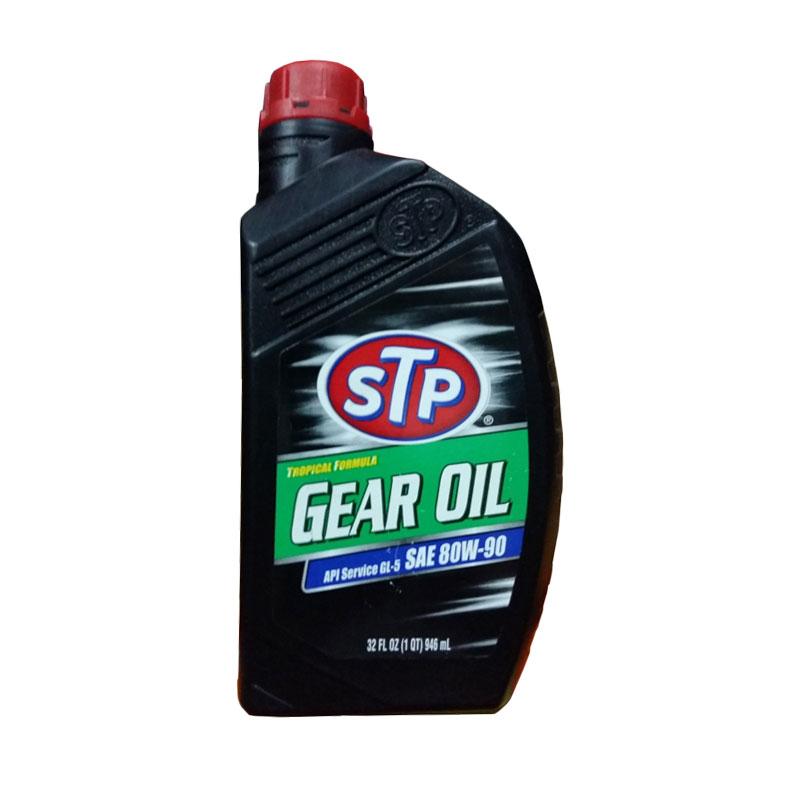 Jual STP Gear Oil SAE 80W 90 Tropical Formula