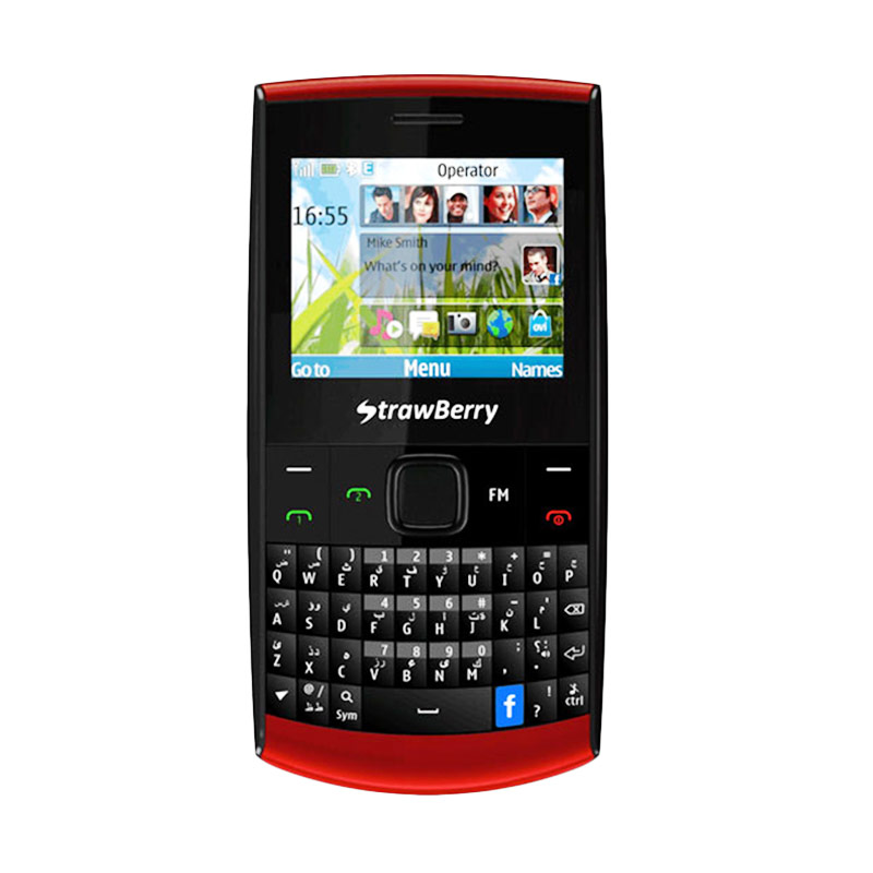 harga Strawberry ST99 X1 Black QWERTY Handphone Blibli.com