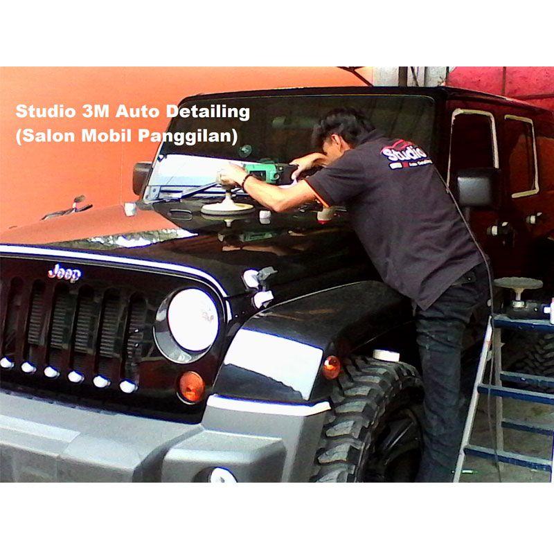 Salon Mobil Panggilan Paket The Complete Treatment + Paint/Clear Protection