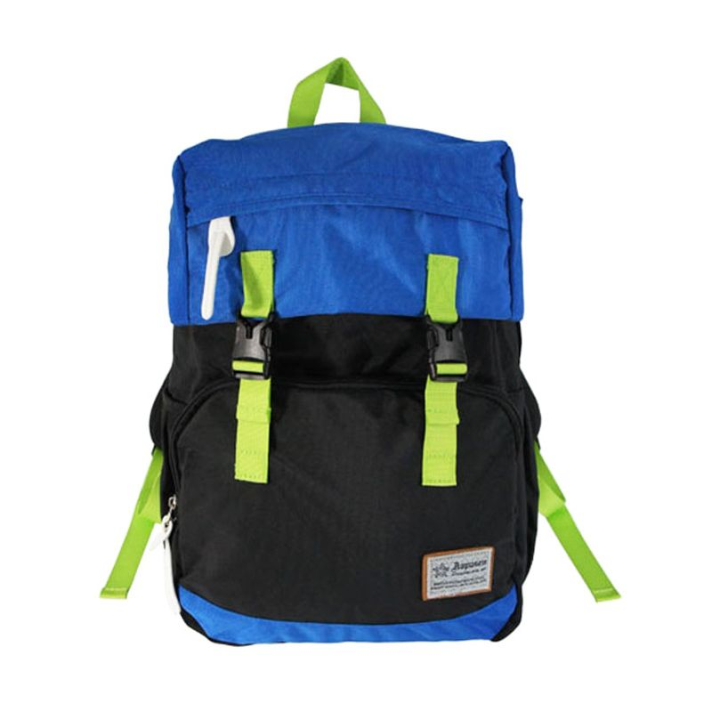 Aopusen Backpack AA-11157 Black Tas Ransel